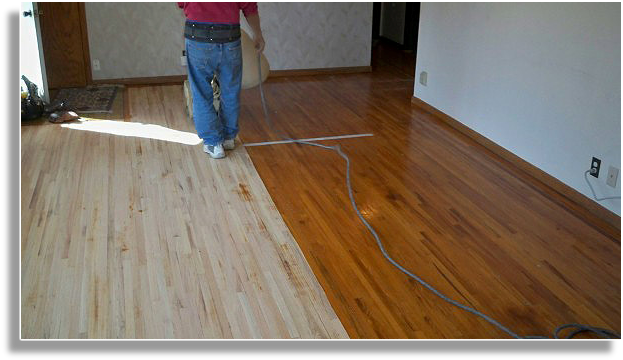 Wood stains for pine floors